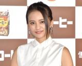 雪印メグミルク『雪印コーヒー発売55年記念式典』に登場した岡田結実 (C)ORICON NewS inc.
