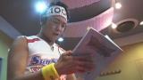 11月9日放送、『ポケットモンスター サン&ムーン』ポケモンのスリーパー役でサンシャイン池崎がゲスト出演(アフレコの様子)
