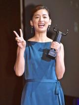 『2017 57th ACC TOKYO CREATIVITY AWARDS』フィルム部門で演技賞を受賞した尾野真千子 (C)ORICON NewS inc.