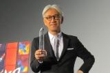 """東京国際映画祭で「第4回""""SAMURAI(サムライ)""""賞」を受賞した坂本龍一 (C)ORICON NewS inc."""