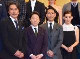 (左から)役所広司、阿部サダヲ、中村勘九郎、綾瀬はるか (C)ORICON NewS inc.