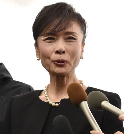平尾昌晃さんの葬儀・告別式に参列した小柳ルミ子 (C)ORICON NewS inc.