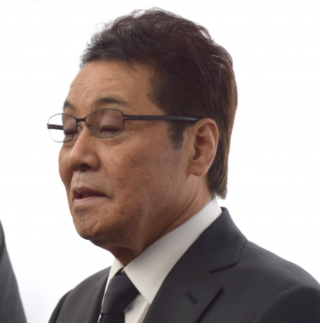 平尾昌晃さんの葬儀・告別式に参列した五木ひろし (C)ORICON NewS inc.
