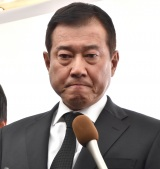 平尾昌晃さんの葬儀・告別式に参列した原辰徳 (C)ORICON NewS inc.