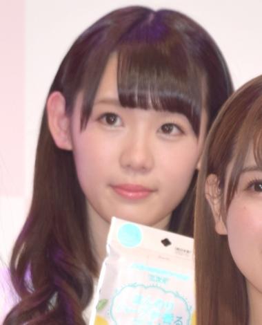 興和『三次元マスク』の新CM発表会に出席した欅坂46・小池美波 (C)ORICON NewS inc.