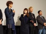 シリーズ初のアニメーション映画『GODZILLA 怪獣惑星』完成披露試写会の模様 (C)ORICON NewS inc.