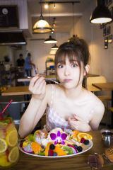 パンケーキに大喜びだった松村沙友理