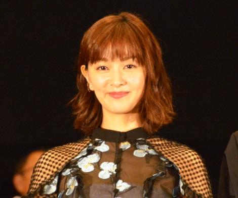 映画『泥棒役者』のイベントに出席した石橋杏奈 (C)ORICON NewS inc.