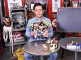 Amazonプライム・ビデオ『有田と週刊プロレスと』でMCを務めるくりぃむしちゅーの有田哲平 (C)ORICON NewS inc.