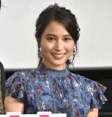 映画『氷菓』公開御礼舞台あいさつに出席した広瀬アリス (C)ORICON NewS inc.