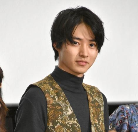 映画『氷菓』公開御礼舞台あいさつに出席した山崎賢人 (C)ORICON NewS inc.
