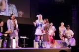 『東京ゲームショウ2017』で、人気バラエティ番組「佳代子の部屋〜真夜中のゲームパーティー〜」を公開収録。コスプレ姿で登場した人気声優・近藤玲奈 (C)oricon ME inc.