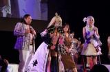 『東京ゲームショウ2017』で、人気バラエティ番組「佳代子の部屋〜真夜中のゲームパーティー〜」を公開収録。人気コスプレヤー・えなこは、キャラクターコスプレ姿で会場を魅了 (C)oricon ME inc.