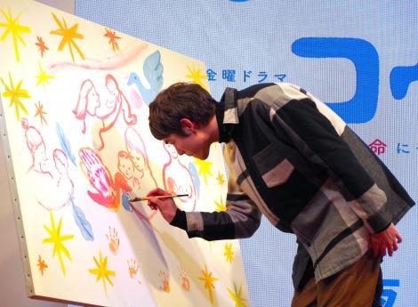 ドラマ『コウノドリ』に出演する宮沢氷魚 (C)ORICON NewS inc.