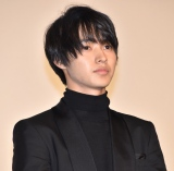 映画『氷菓』初日舞台あいさつに登壇した山崎賢人 (C)ORICON NewS inc.