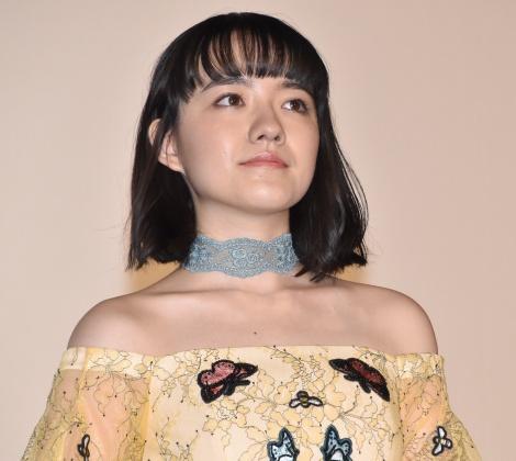 映画『氷菓』初日舞台あいさつに登壇した小島藤子 (C)ORICON NewS inc.
