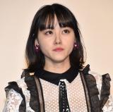 映画『氷菓』初日舞台あいさつに登壇した天野菜月 (C)ORICON NewS inc.