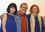 映画『KOKORO』初日舞台あいさつに出席した(左から)門脇麦、國村隼、ヴァンニャ・ダルカンタラ監督 (C)ORICON NewS inc.