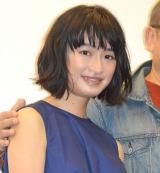 映画『KOKORO』初日舞台あいさつに出席した門脇麦 (C)ORICON NewS inc.