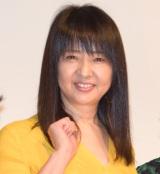 映画『おじいちゃん、死んじゃったって。』の初日舞台あいさつに登壇した美保純 (C)ORICON NewS inc.