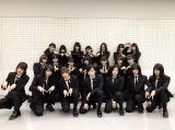 11月3日、テレビ朝日系『ミュージックステーション』生放送を控える欅坂46(リハーサル直前に撮影)(C)テレビ朝日