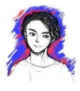 米津玄師が描き下ろした菅田将暉のイラスト