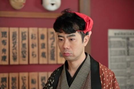 連続テレビ小説『わろてんか』より。万丈目吉蔵(藤井隆)(C)NHK