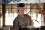 連続テレビ小説『わろてんか』より。吉蔵の妻・万丈目歌子(秋元萌)(C)NHK