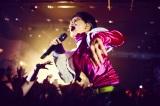 「SOUND JUNCTION 渋谷音楽交差点」のトップバッターを務めた水曜日のカンパネラ・ボーカルのコムアイ(c)Yusuke Kashiwazaki / Red Bull Content Pool