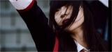 荻野由佳=NGT48の2ndシングル「世界はどこまで青空なのか?」MVより