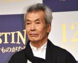映画『DESTINY 鎌倉ものがたり』完成披露会見に出席した田中泯 (C)ORICON NewS inc.