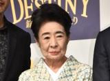 映画『DESTINY 鎌倉ものがたり』完成披露会見に出席した中村玉緒 (C)ORICON NewS inc.
