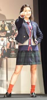 Netflixオリジナルドラマ『炎の転校生 REBORN』に出演する川島海荷 (C)ORICON NewS inc.