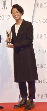 『BEST SHINIST 2017』の授賞式に出席した花田優一 (C)ORICON NewS inc.
