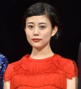 映画『DESTINY 鎌倉ものがたり』完成披露舞台あいさつに出席した高畑充希 (C)ORICON NewS inc.
