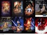 『スター・ウォーズ/最後のジェダイ』(12月15日公開)プレミアム・ナイト 前夜祭 特別上映のチケット購入者にプレゼントされる歴代オリジナルポスター(C)2017 Lucasfilm Ltd. & TM. All Rights Reserved