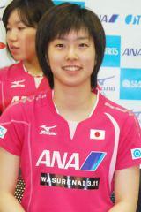 ロンドン五輪での活躍が記憶に新しい、女子卓球の石川佳純選手が3位に (C)ORICON DD inc.