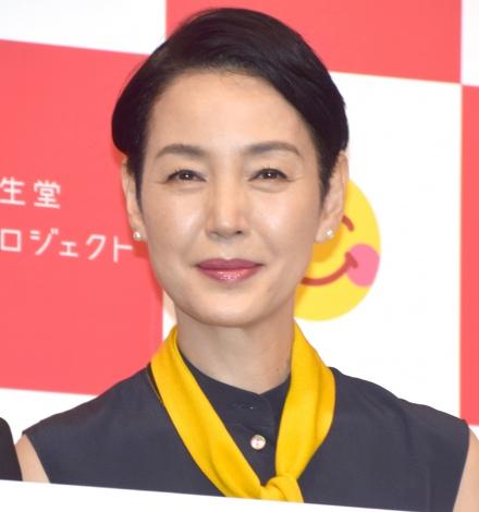 『資生堂 新プロジェクト発表会』に出席した樋口可南子 (C)ORICON NewS inc.
