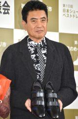 『第10回 日本シューズベストドレッサー賞』授賞式に出席した名高達男 (C)ORICON NewS inc.