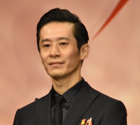 三浦誠己=映画『火花』完成披露舞台あいさつ (C)ORICON NewS inc.