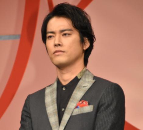 桐谷健太=映画『火花』完成披露舞台あいさつ (C)ORICON NewS inc.