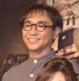 舞台『24番地の桜の園』初日公演前の記者会見に出席した八嶋智人 (C)ORICON NewS inc.