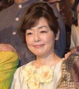 舞台『24番地の桜の園』初日公演前の記者会見に出席した小林聡美 (C)ORICON NewS inc.