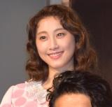舞台『24番地の桜の園』初日公演前の記者会見に出席した松井玲奈 (C)ORICON NewS inc.
