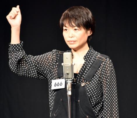 日本テレビ系『女芸人No.1決定戦 THE W(ザ ダブリュー)』2回戦に出場しただいたひかる (C)ORICON NewS inc.