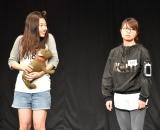 日本テレビ系『女芸人No.1決定戦 THE W(ザ ダブリュー)』2回戦に出場した(左から)横澤夏子と山崎ケイによるコンビ「とんとん」 (C)ORICON NewS inc.