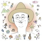 DJケミカルが描き下ろしたモン吉のソロ第2弾アルバム『モン吉2』通常盤ジャケット