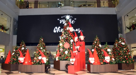 "『Sunshine City ""Make"" a Christmas wish』の点灯式より (C)ORICON NewS inc."