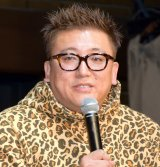 ミュージカル『ブロードウェイと銃弾』の制作発表会見に参加した福田雄一氏 (C)ORICON NewS inc.