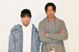 シリーズ第4弾『HiGH&LOW THE MOVIE 3 / FINAL MISSION』への思いを語った(左から)岩田剛典、AKIRA(C)ORICON NewS inc.
